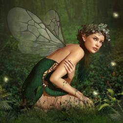 green-fairy-girl